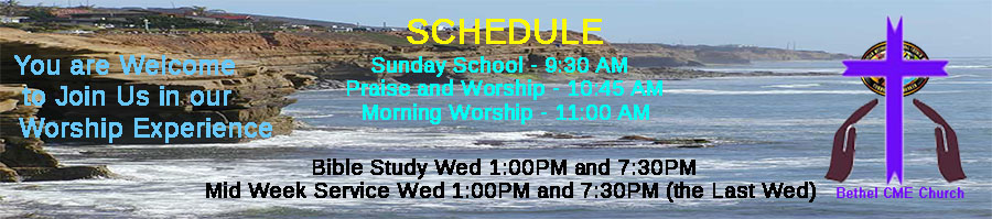 Church Schedule